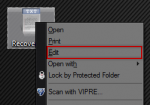 How To: Change Right Click Context Menu's 'Edit' Default