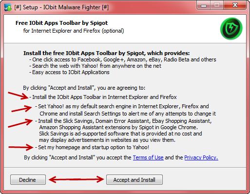 Beware: IObit Malware Fighter