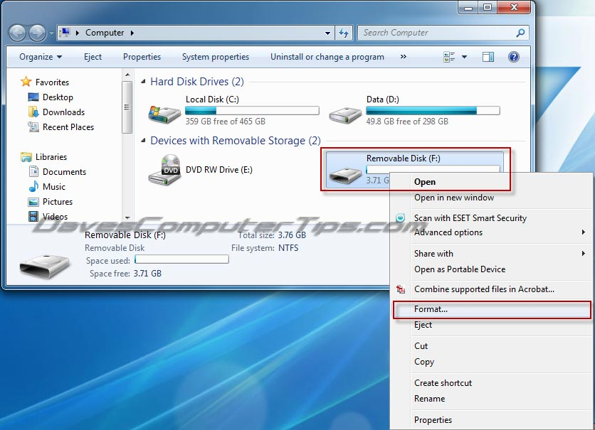 How-to create a bootable Windows 7 USB flash drive   Daves Computer Tips
