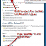How to create a Windows 7 system image