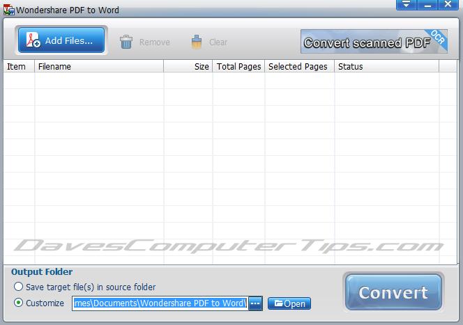 Download do Wondershare PDF to Word Converter Free para ...