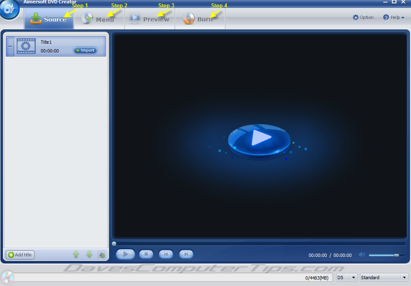 Aimersoft DVD Creator – Unlimited Giveaway! | Daves Computer