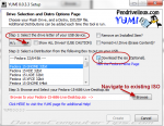 Create multiboot USB drives with YUMI