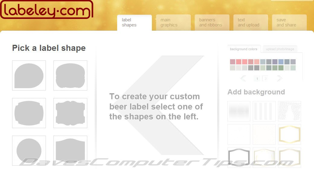 Create customized beer labels online with 'Labeley' | Daves ...