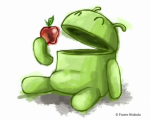 "Android set to take a bite out of Apple's title of ""most developers for a mobile platform"""