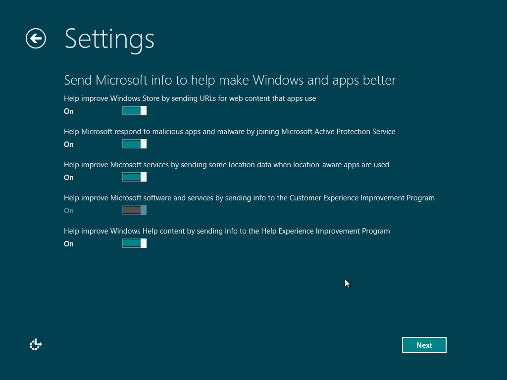 how to return windows 8