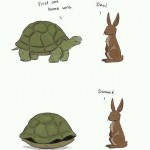 A new spin on the tortoise and the hare