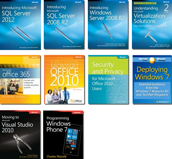 FREE 10 technical ebooks from Microsoft – Free Word Cover Page