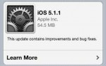 iOS 5.1.1 Update – Battery Issue?