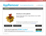 AppRemover: Completely remove stubborn security software