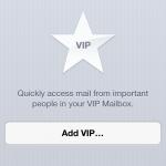 iOS 6 – Your VIP Inbox