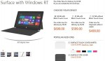 Microsoft reveals 'Surface RT' (tablet) pricing