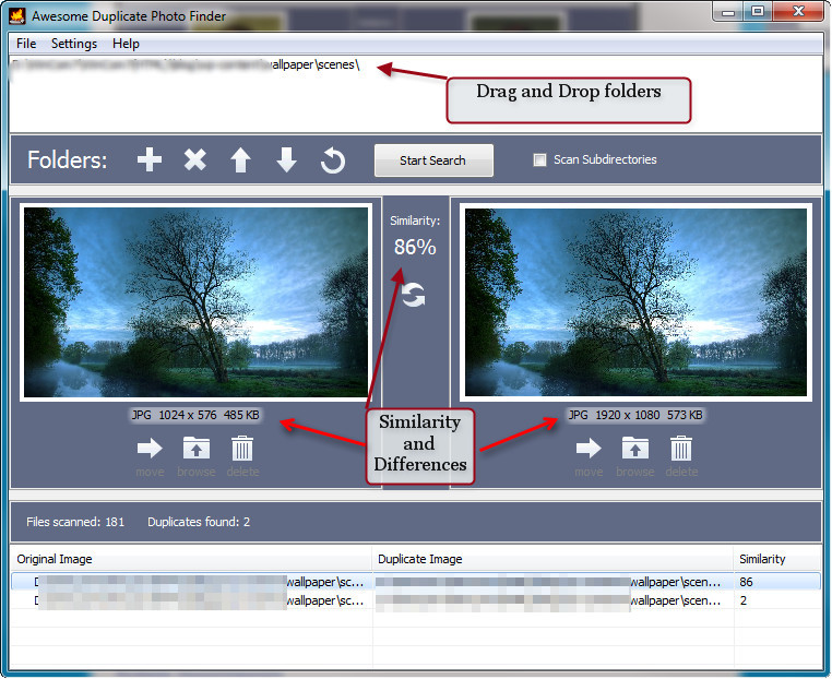 duplicate-images-main-window