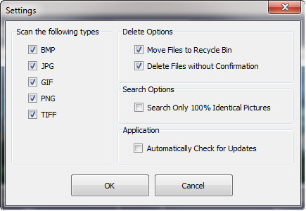duplicate-images-settings-menu