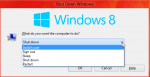 How To: Shutdown Windows 8 quickly and easily