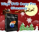 Digiarty Xmas Giveaways: WinX DVD Copy Pro & MacX Video Converter Pro