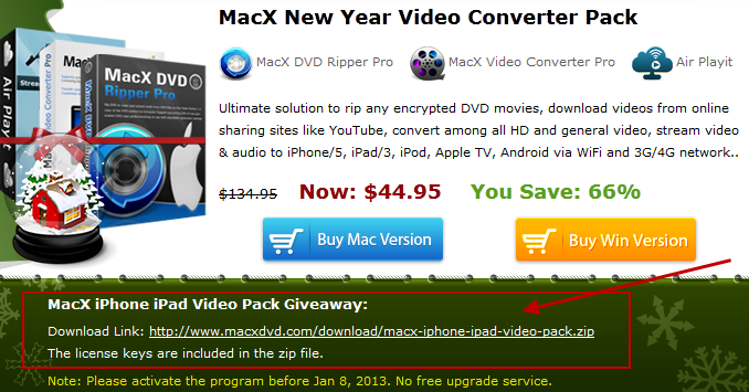 macx iP video pack ny gway