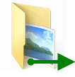 move folders logo
