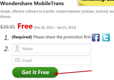 Wondershare Xmas Giveaway (Part 2): PhoneTrans