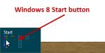 Windows 8 missing Start button – what missing Start button!