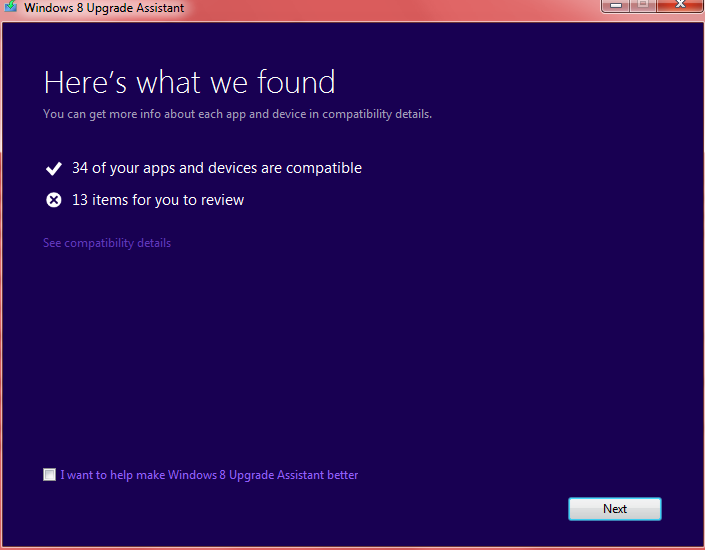 windows 8 upgrade 1