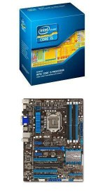 Intel Core i5-3570 and ASUS P8H77-V LE Bundle