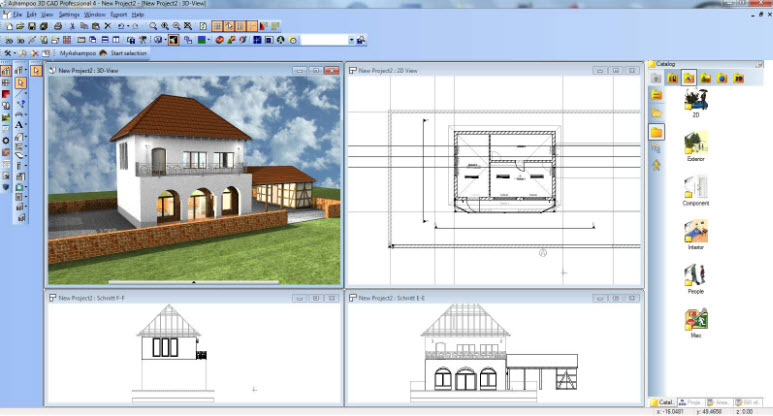 Ashampoo CAD Pro screenshot 2