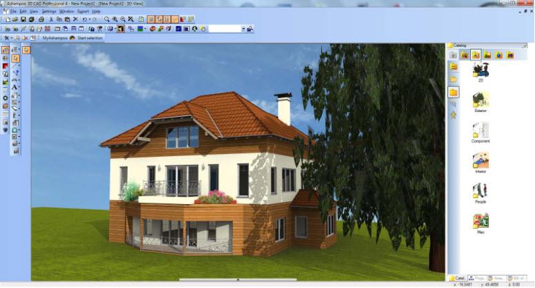 Ashampoo CAD Pro screenshot
