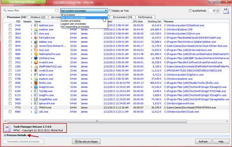 mitec task manager 2b