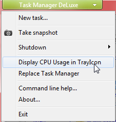 mitec task manager options menu