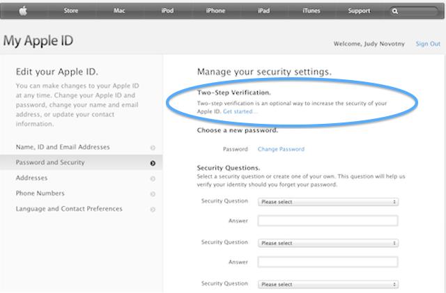 2 step authentication
