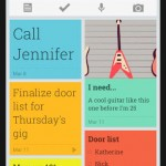 Google's new sticky notes app – Google 'Keep'