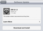 iOS 6.1.3 – No More Bypassing a Locked Screen