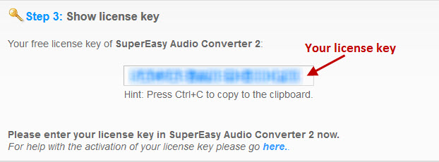supereasy audio converter license key