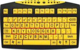 Keyloggers-keyboard