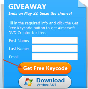 aimersoft gway get kyecode