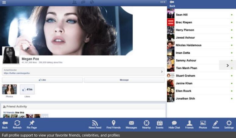 app store facebook now