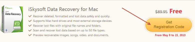 data recovery for mac giveaway page
