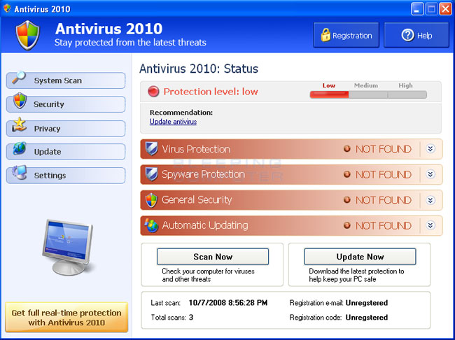 fake anti-virus