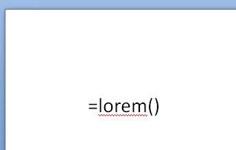 type lorem