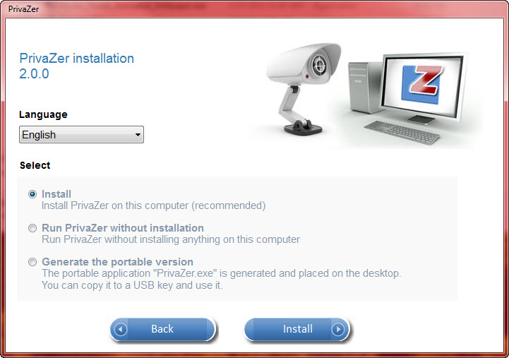 Privazer 2 - installation options