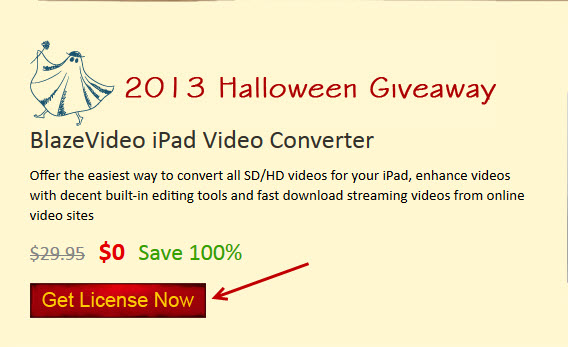 blazevideo ipad converter giveaway 1