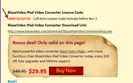 blazevideo ipad converter giveaway 2