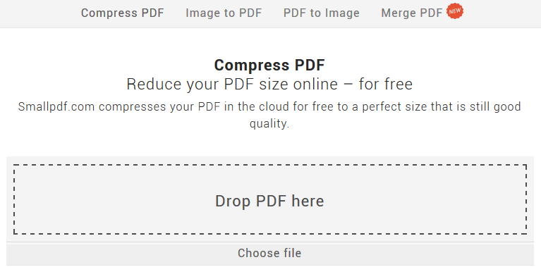 smallpdf com compress and or merge pdfs online daves computer tips