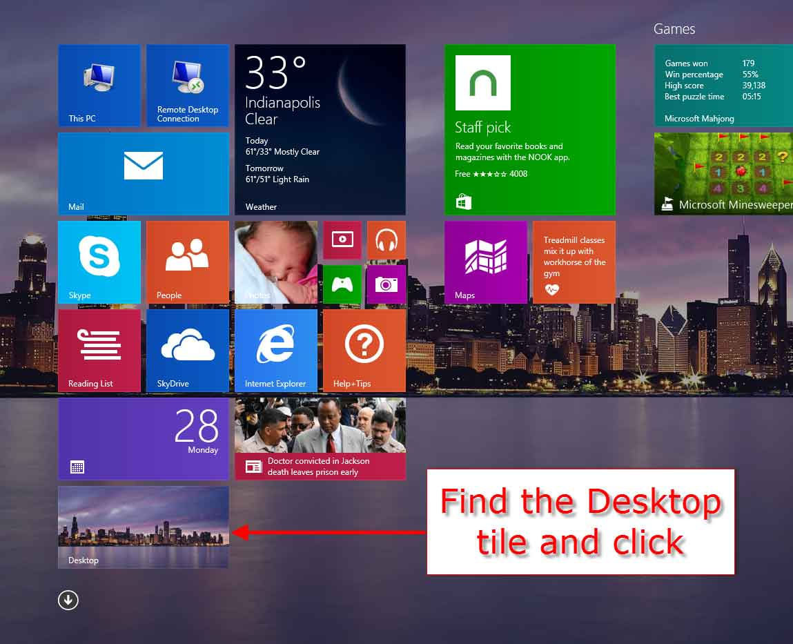 How To Boot Straight To The Windows 8 1 Desktop
