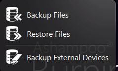 Backup + Restore