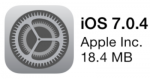 Apple Releases iOS 7.0.4