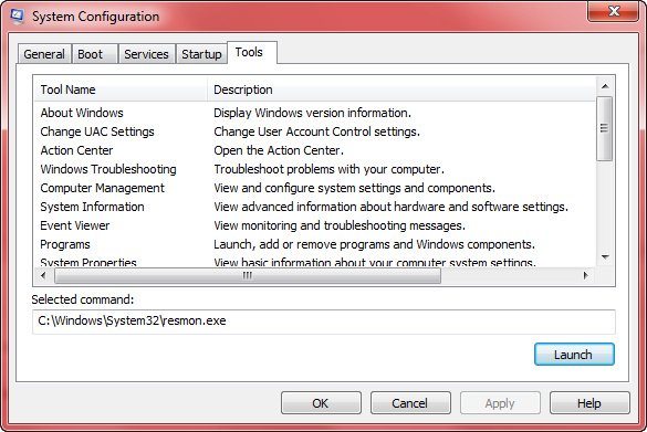 system configuration - tools 1
