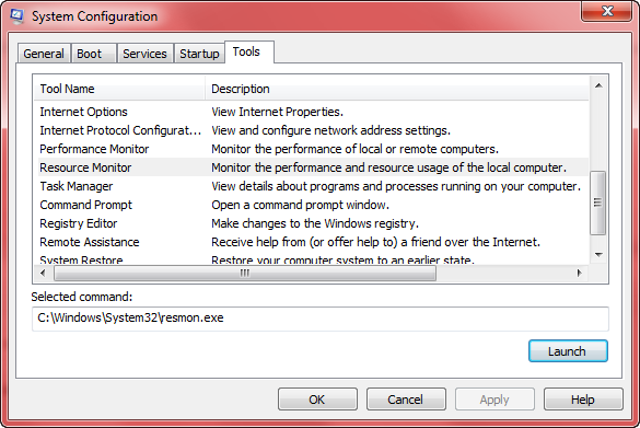 system configuration - tools 2