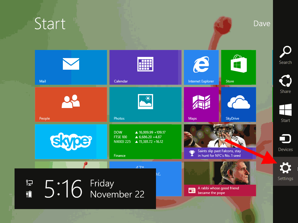 how to change sleep settings on windows 8.1